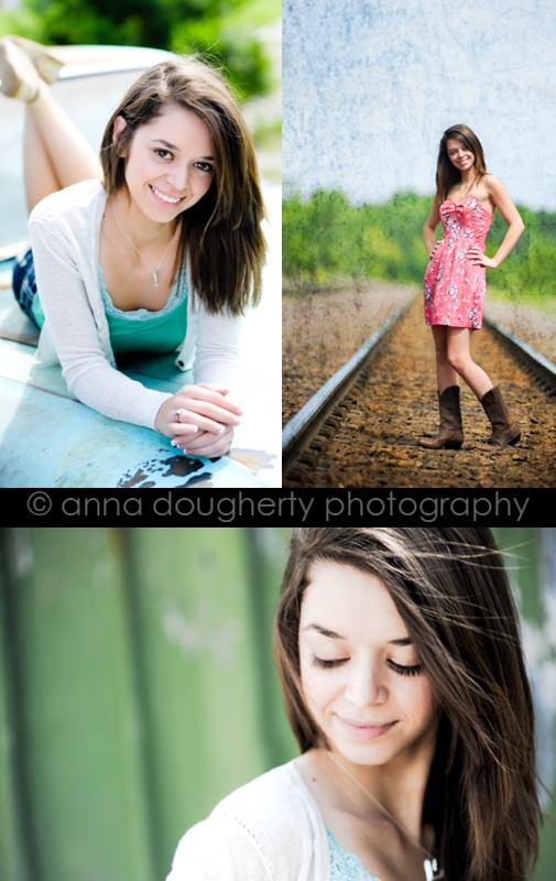 Senior Photo Shoot by Anna Dougherty